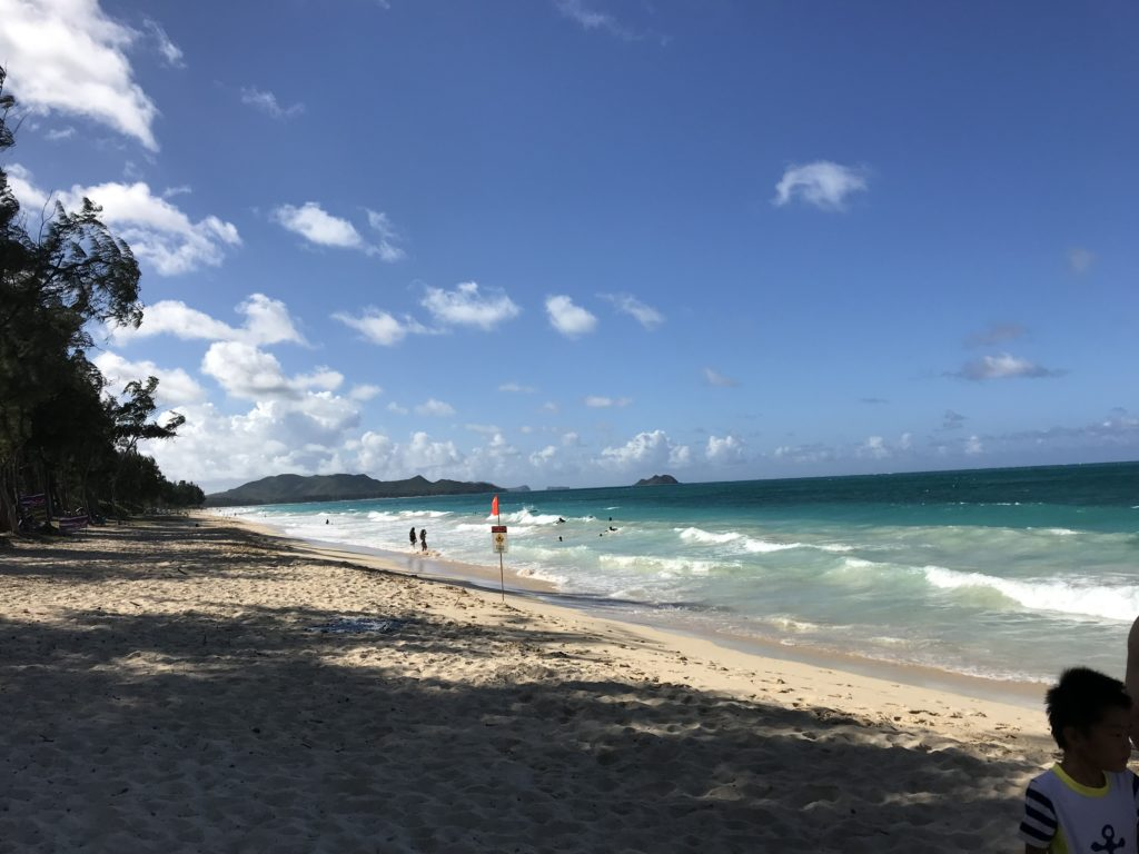 ハワイの海